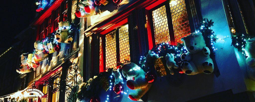 strasbourg week-end alsace street Christmas Market marche de Noel
