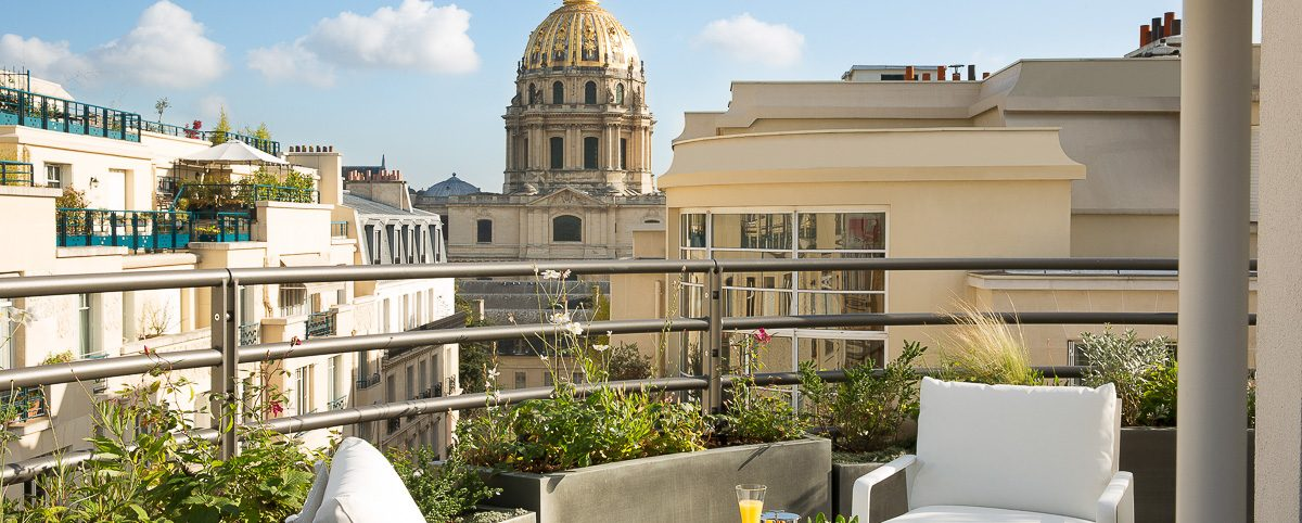Cinq Codet Paris luxury hotel loft spirit Paris 7 hotel luxe Paris 7eme arrondissement