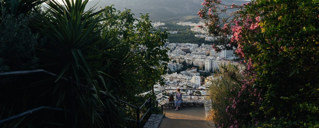 Vue d Athenes Grece