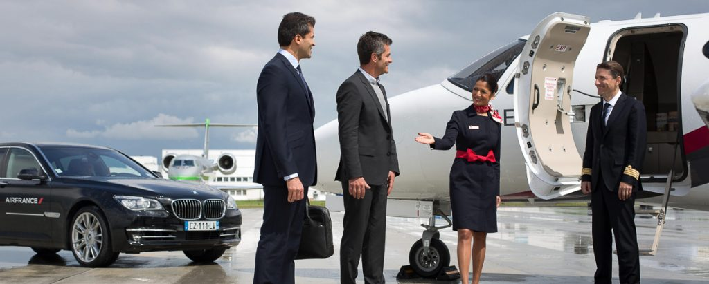 Air France Première Classe First Class ©Air France RW Luxury Hotels & Resorts