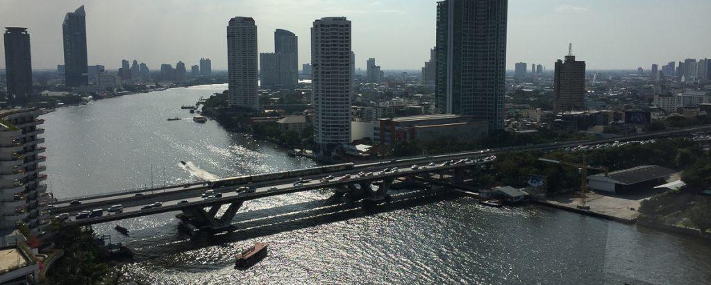 Bangkok river Escale luxe a Bangkok