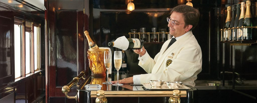 Luxury train Belmond LE VENICE SIMPLON-ORIENT-EXPRESS