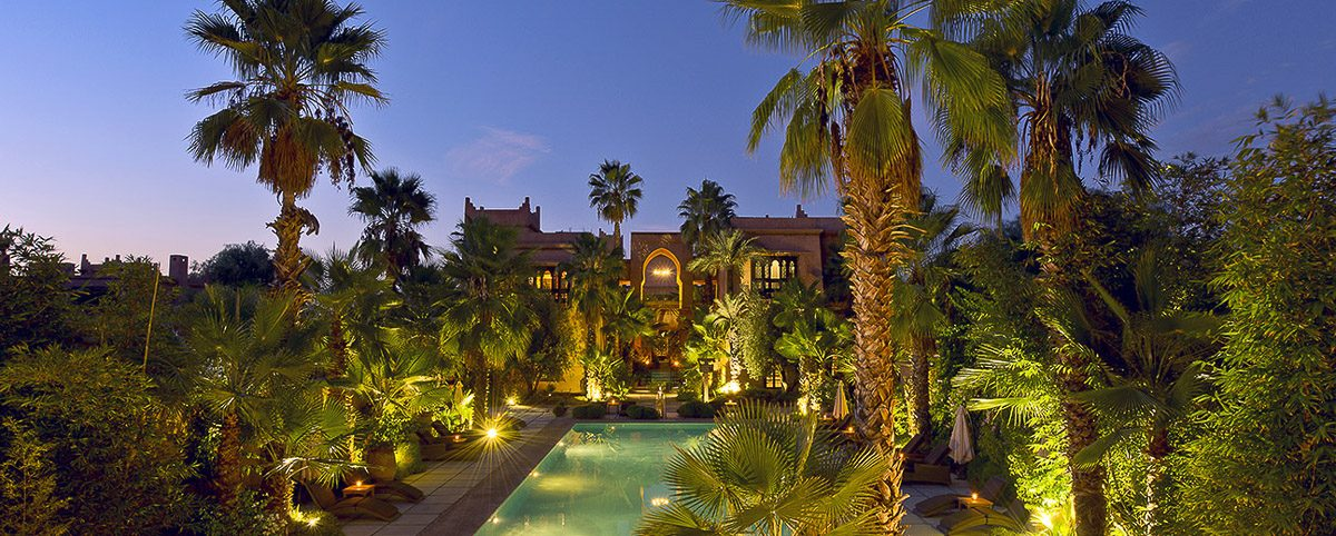 Tigmiza © Hotel de luxe Marrakech vue generale