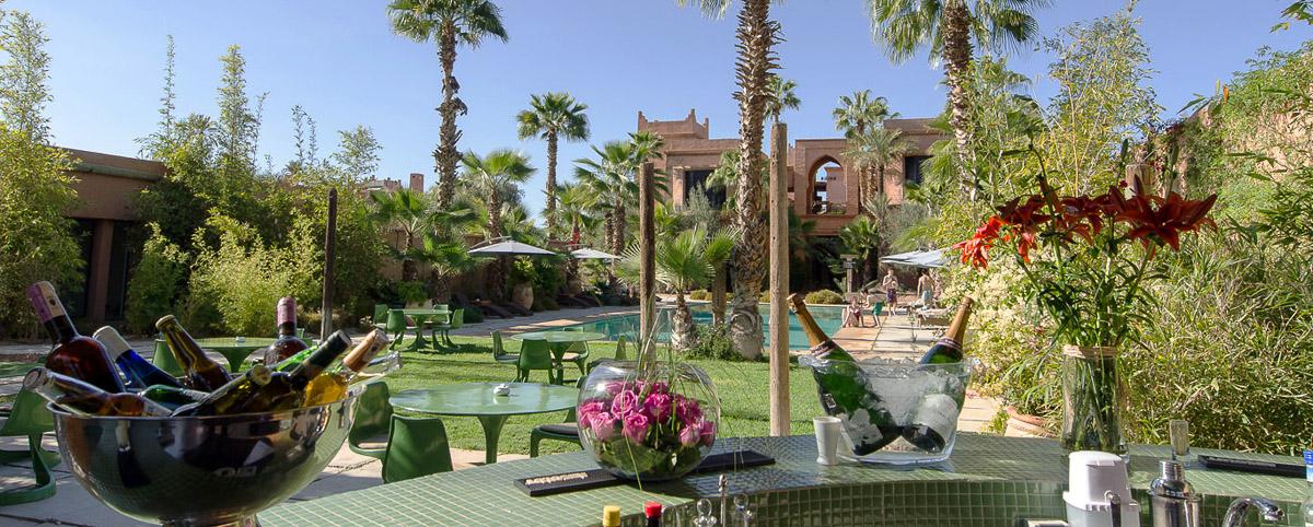Tigmiza © Hotel de luxe Marrakech Pool