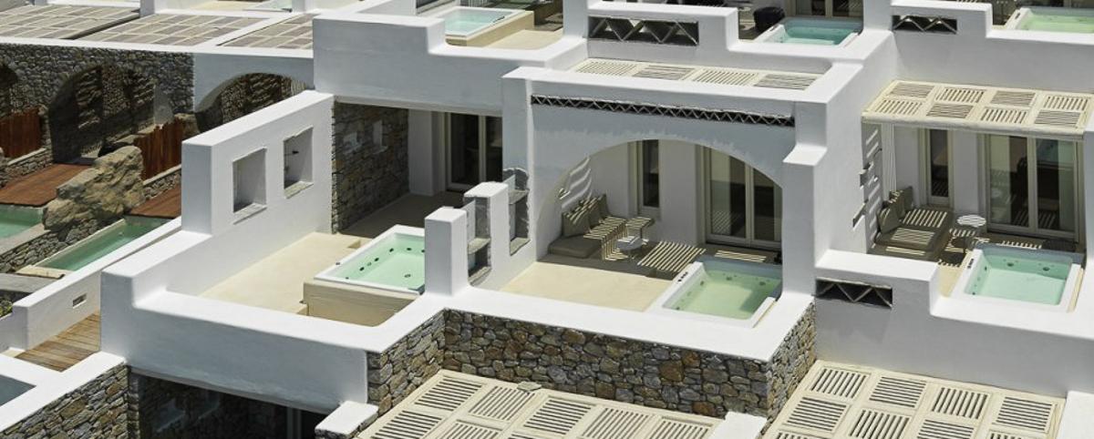 Kensho Mykonos luxury hotel Mykonos