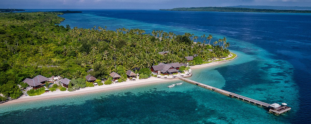 Wakatobi Dive Resort Sulawesi Luxury Hotel Indonesie