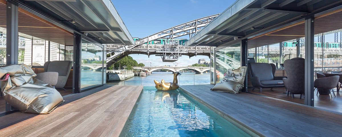 L'OFF Paris Seine boat hotel Paris RW Luxury Hotels & Resorts