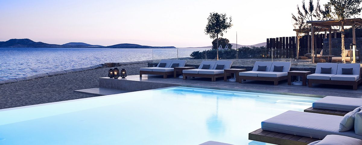 Bill & Coo Coast Suites and Lounge Mykonos luxury hotel Mykonos