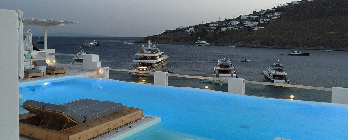 Nissaki Boutique Hotel luxury hotel Mykonos