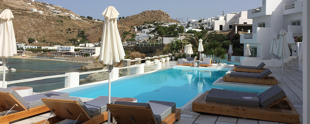 Nissaki Boutique Hotel luxury hotel Mykonos