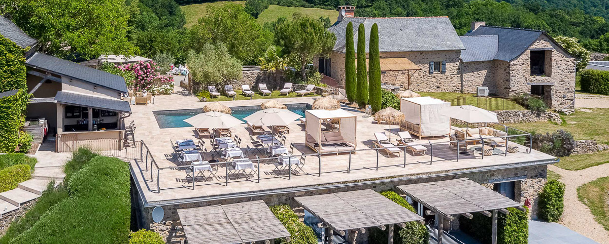 Domaine La Broutie Aveyron France Eco-friendly hotel